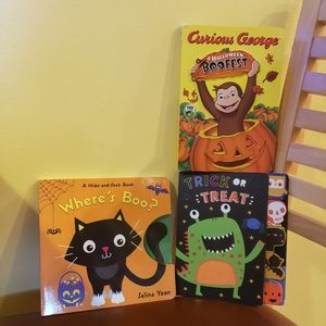 3 halloween books price is for all 3